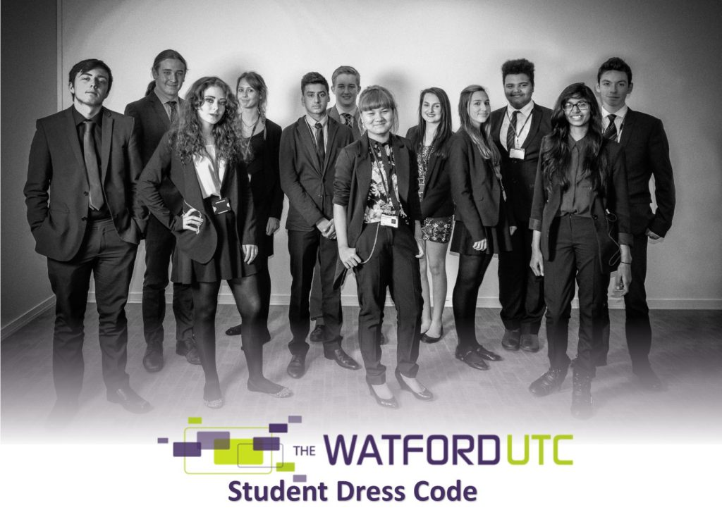 The Watford UTC Dress Code Guide Cover